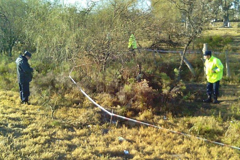 El lugar donde fue encontrado el cuerpo del soldado voluntario